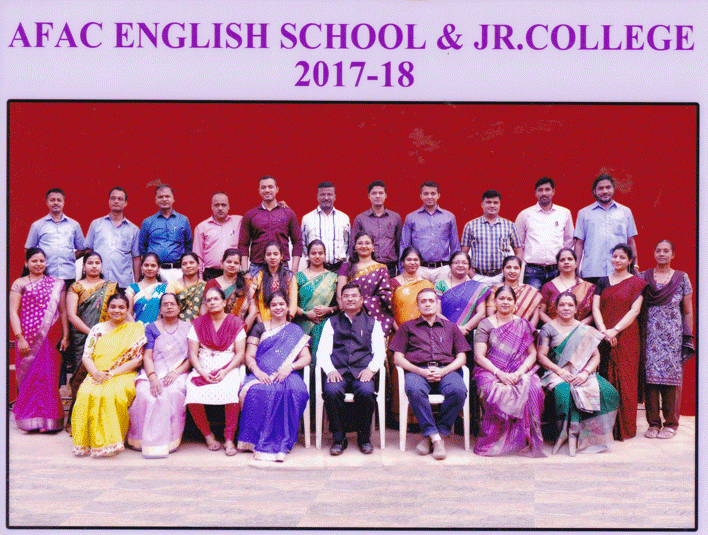 AFAC English School Staff English Medium in 2017
