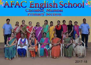AFAC Primary English staff in 2017