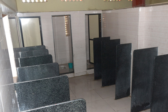 Furnished Boys Washrooms