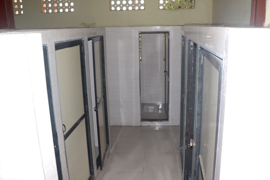 Furnished Girls Washrooms