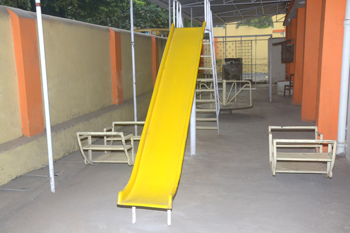 Kinder Garden Play Items donated by Mr. Anand Kulkarni & Radhika Dudhat Pereira