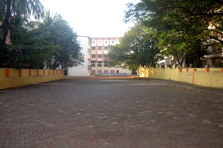 Our School Building with Play Ground