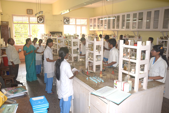 Our well equiped Chemistry Lab