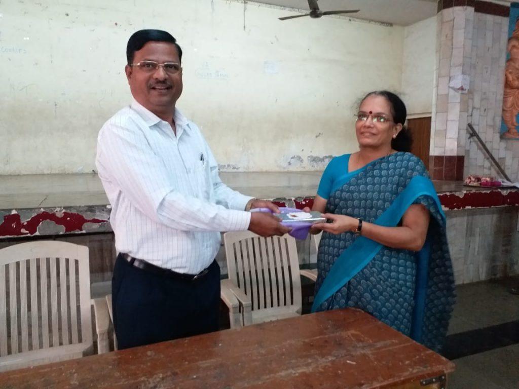 First Prize - Mrs. Ganga Ramesh