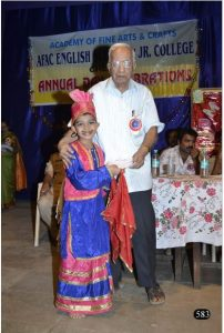 Respected Thomare sir at our Annual Day Pic 1