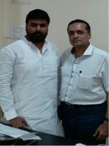 With Mr. Rahul Shewale (Member of Parliament - Loksabha)