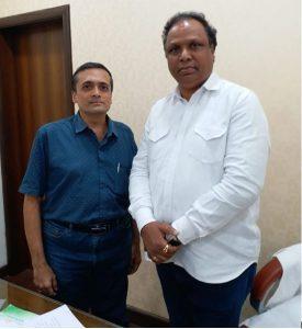 With Adv. Ashish Shelar MLA and Ex. Education Minister - Maharashtra
