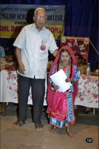 Respected Thomare sir at our Annual Day Pic 3