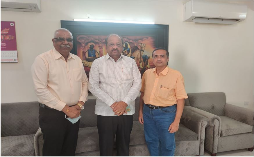 With Mr. Gopal Shetty - Member of Parliament - Loksabha