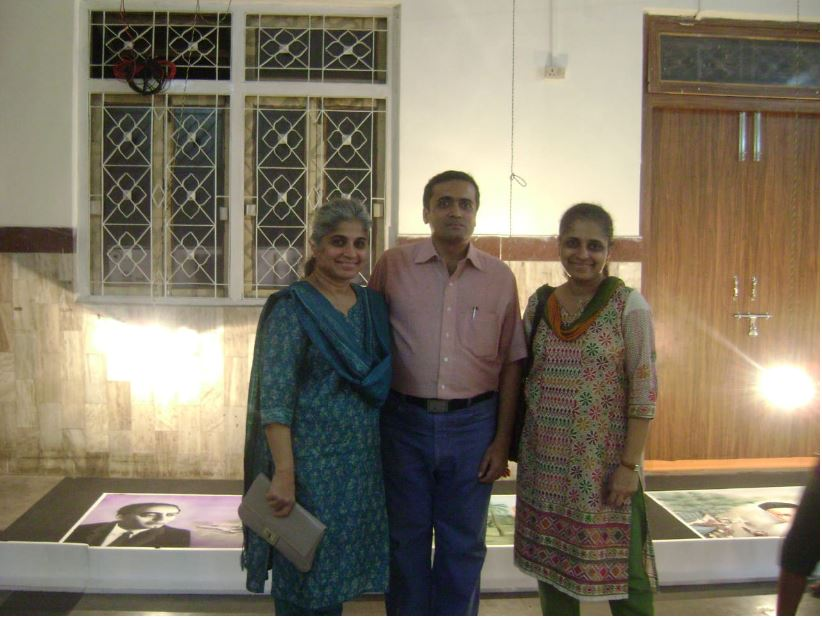 Jitendra sir with Dr. Ameeta Patil and Dr. Anita Patil