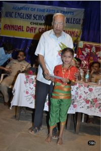 Respected Thomare sir at our Annual Day - Pic 4