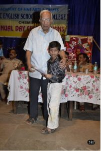 Respected Thomare sir at our Annual Day Pic 5