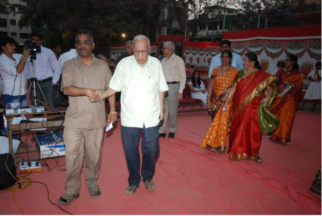Respected Thomare sir at our Annual Day Pic 7