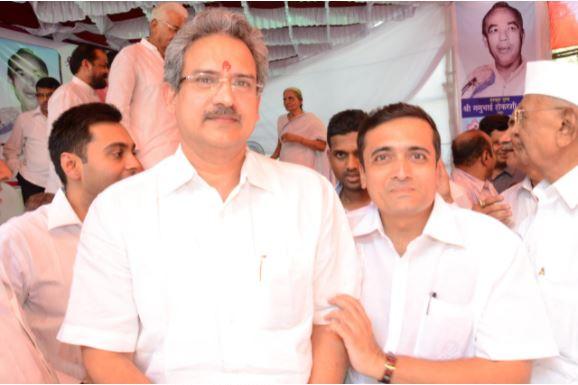 With Mr. Anil Desai (Member of Parliament  - Rajya Sabha)