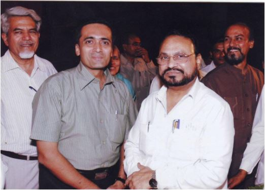 With Mr. Anandrao Adsul  - Former Member of Parliament