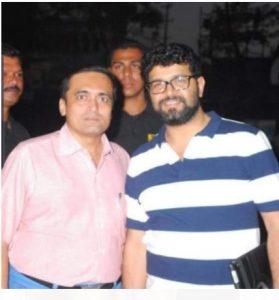 With Marathi Film Producer Shri Avdhoot Gupte