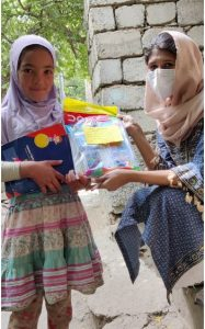 Distribution of Colour Sets in Turtuk Valley School