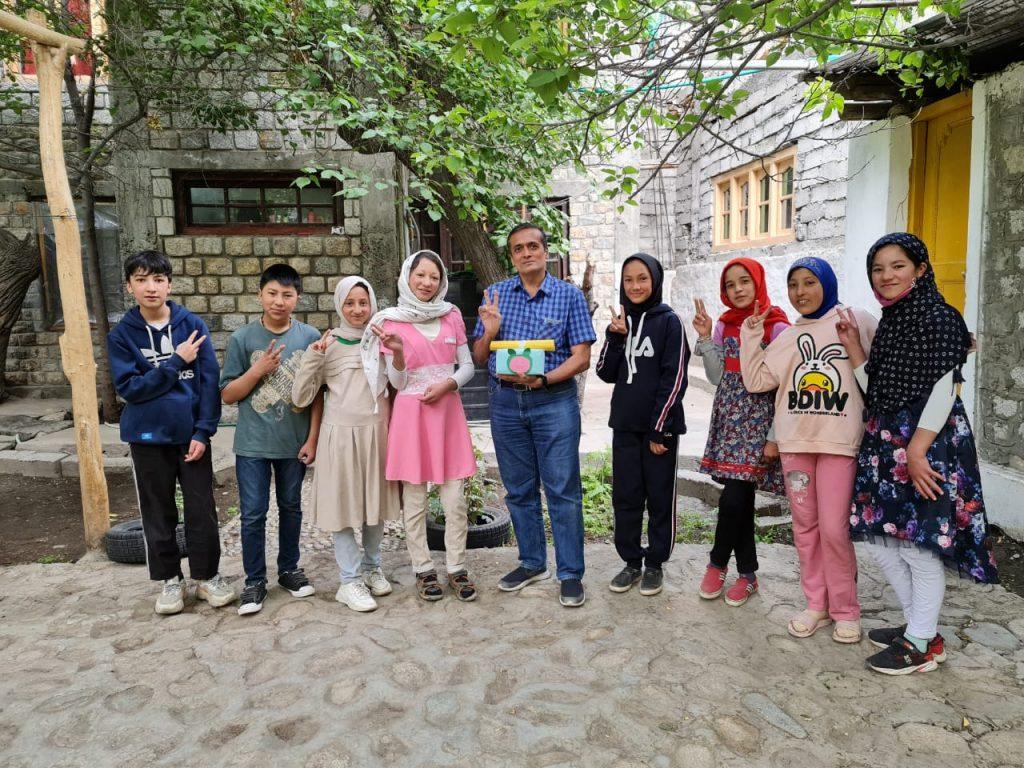 Greetings from Turtuk Valley School students