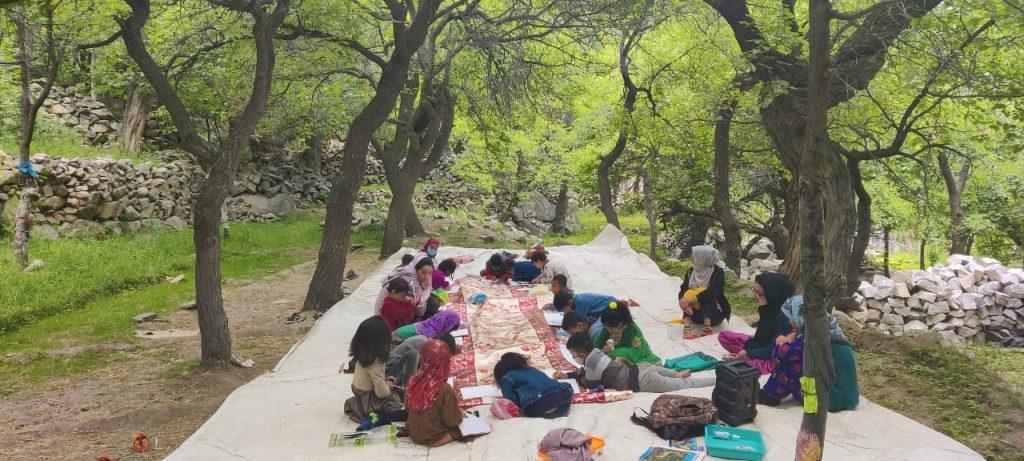 4Community Classes of Turtuk Valley School